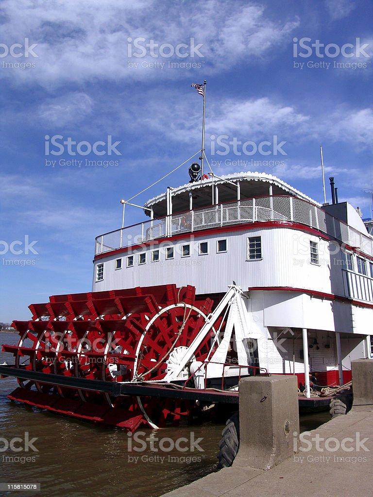 River Boat stock photo
