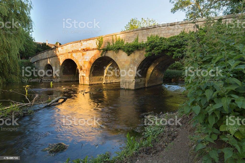 River Bridge. stock photo
