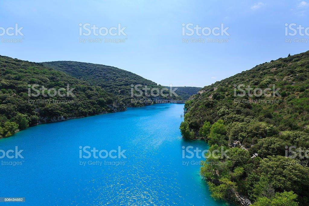 river canyon stock photo
