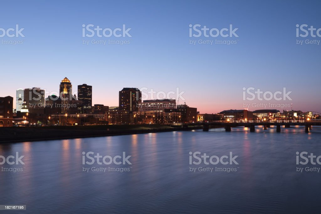 River City stock photo