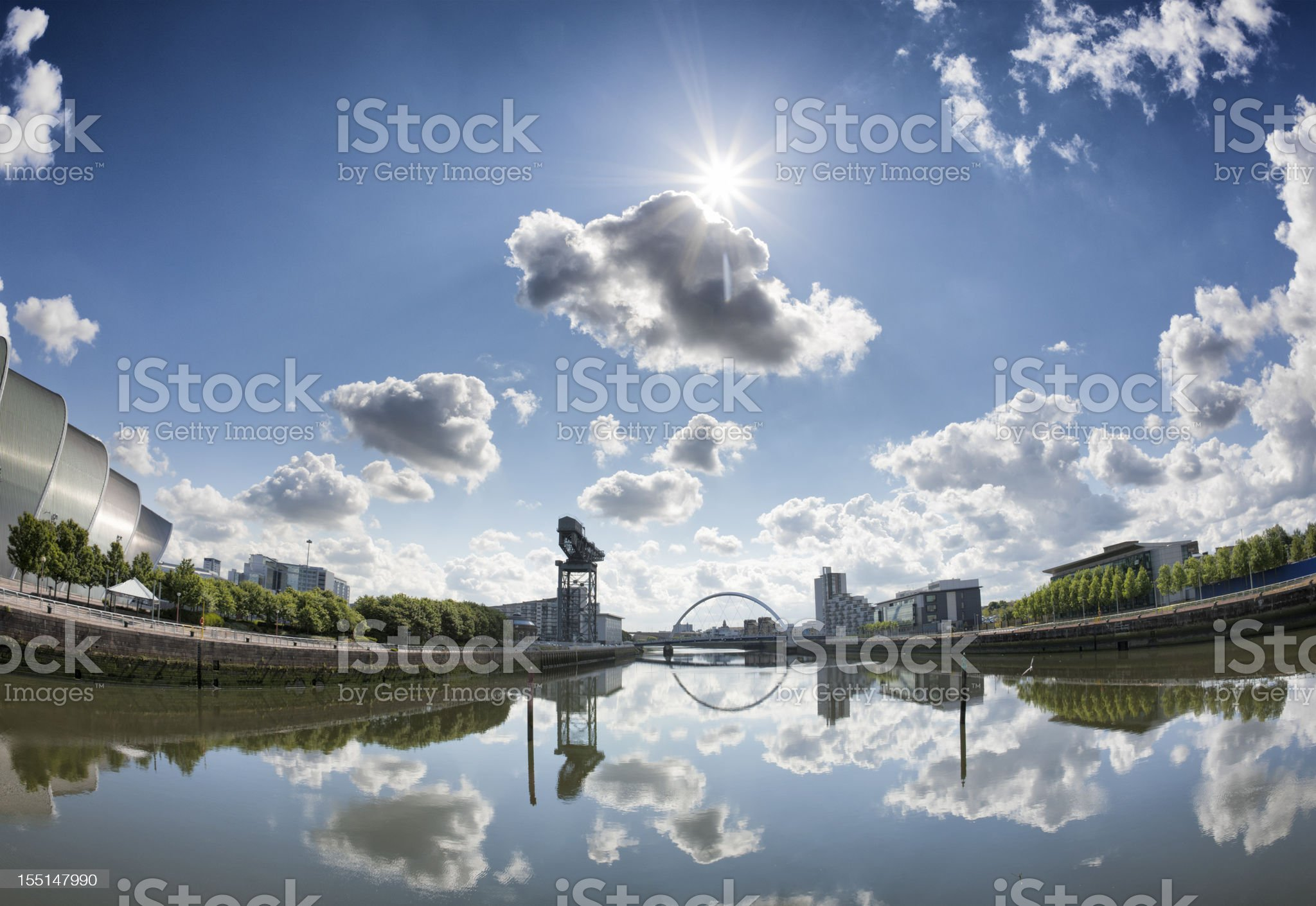 River Clyde royalty-free stock photo