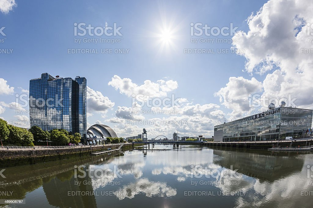 River Clyde stock photo