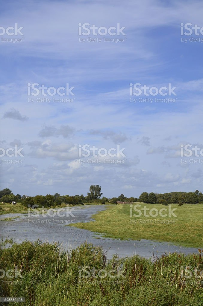 River Cuckmere. stock photo