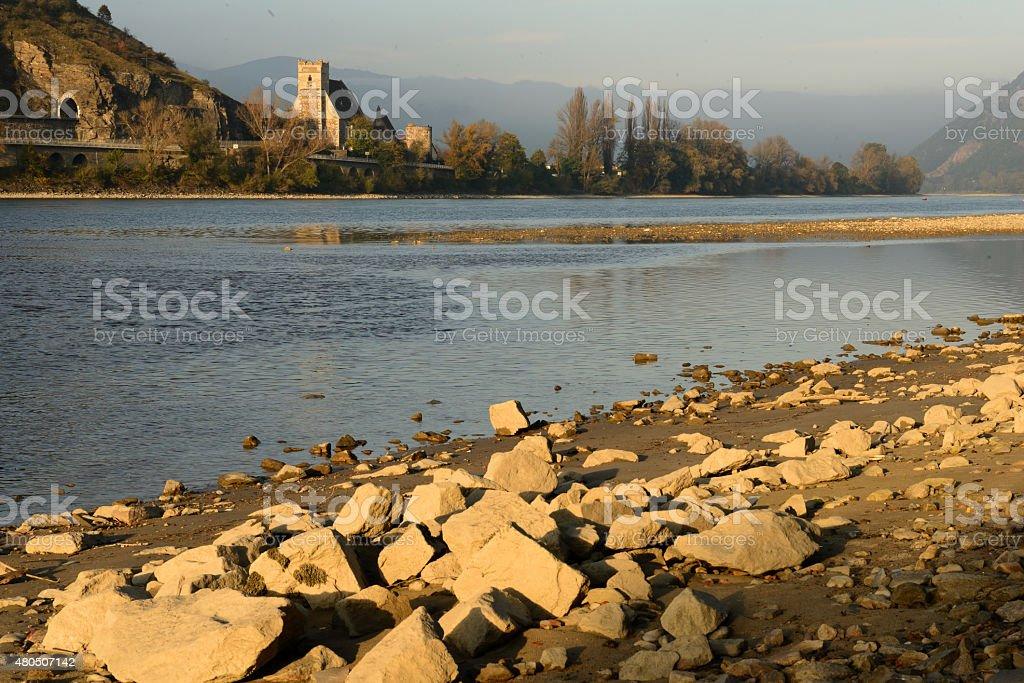 River Danube (Wachau/Lower Austria) stock photo