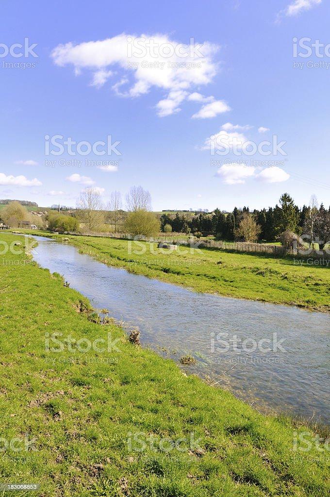 River Darent stock photo