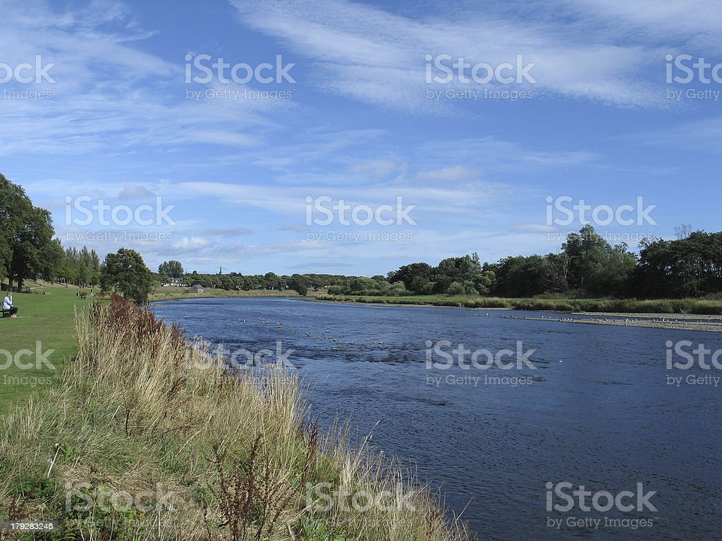 River Dee Aberdeen royalty-free stock photo