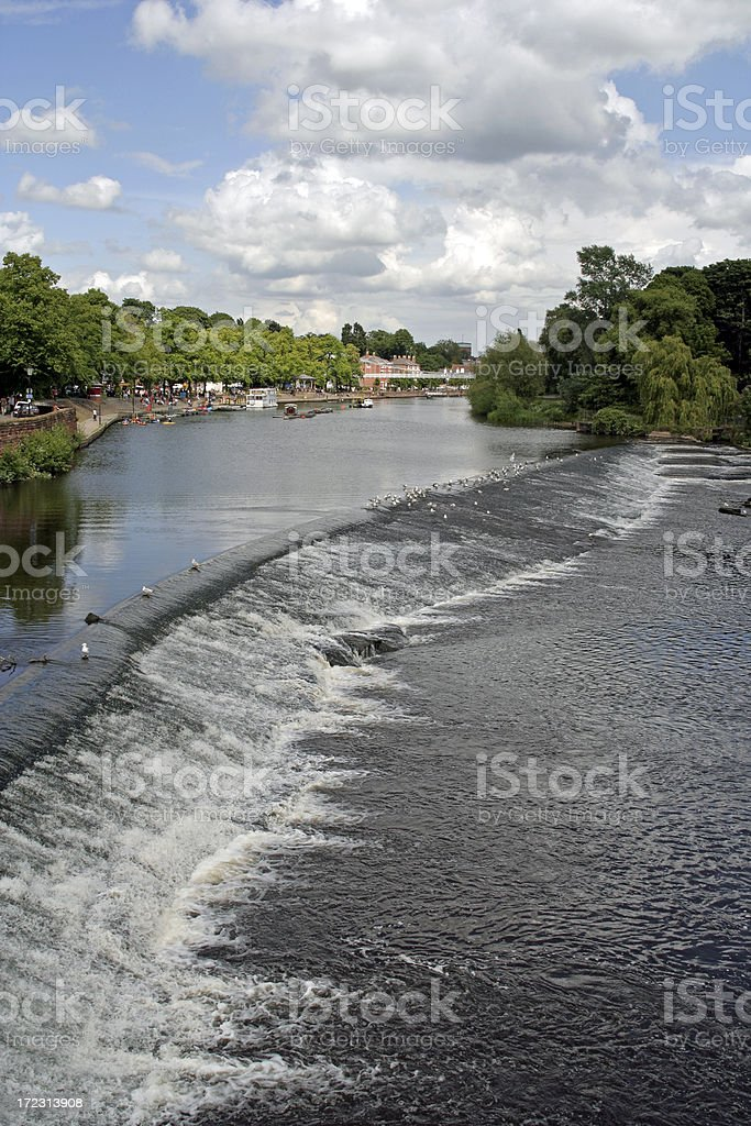 River Dee - Chester royalty-free stock photo