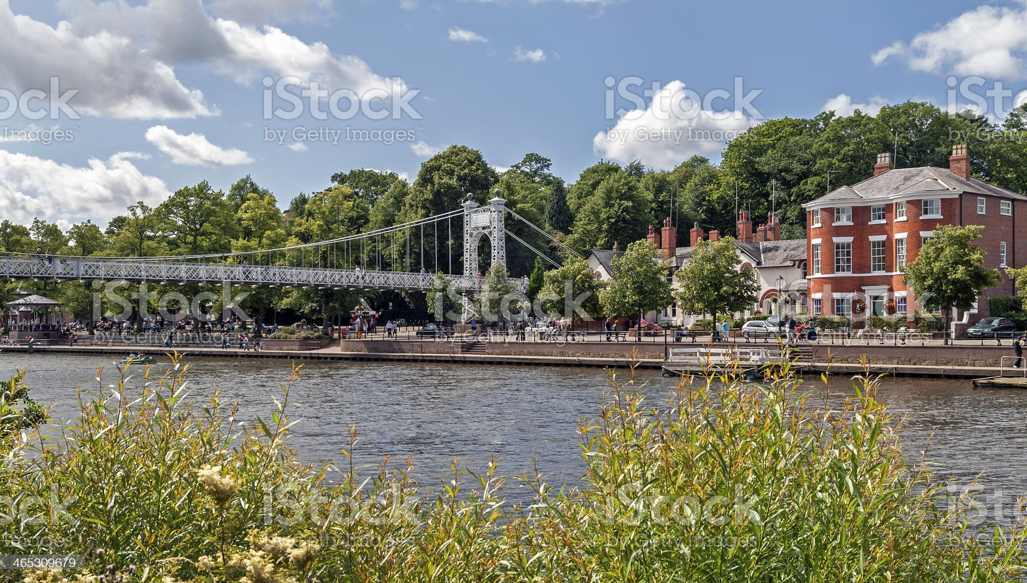 River Dee Chester royalty-free stock photo