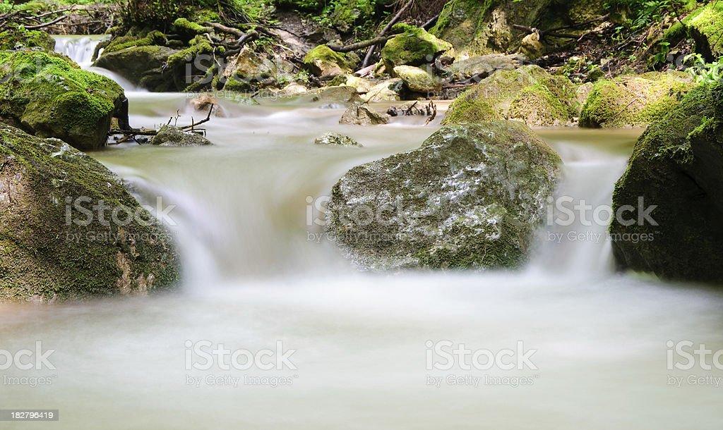 River Detail royalty-free stock photo
