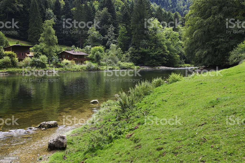 River Doubs C stock photo