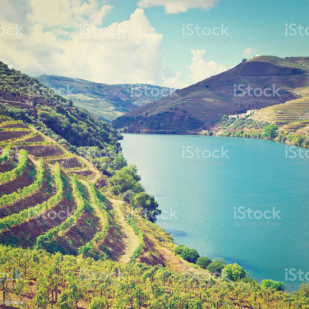 River Douro stock photo