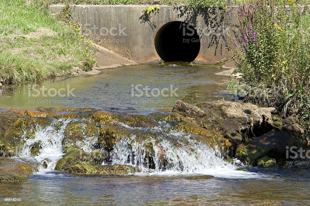 River Drain stock photo