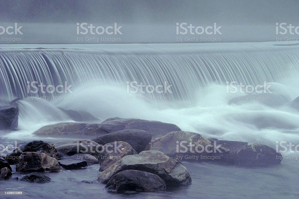 River Fall stock photo