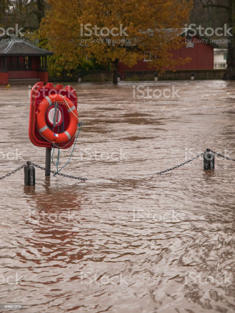 River Flood stock photo
