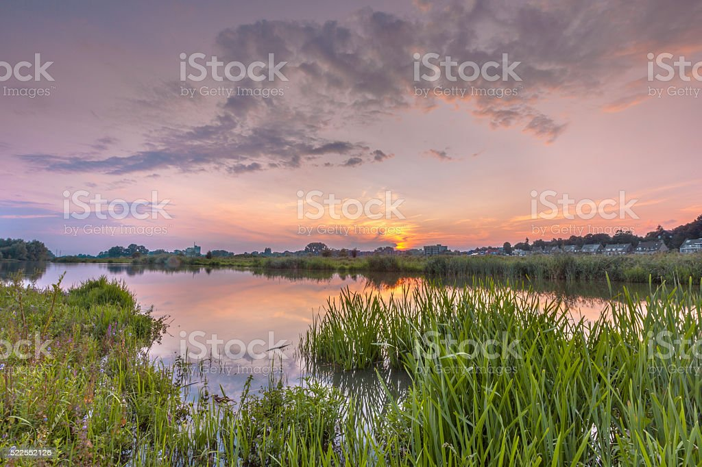 River forelands stock photo