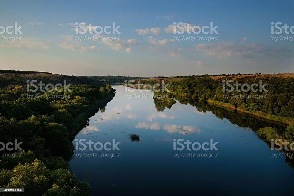 River from Forest royalty-free stock photo