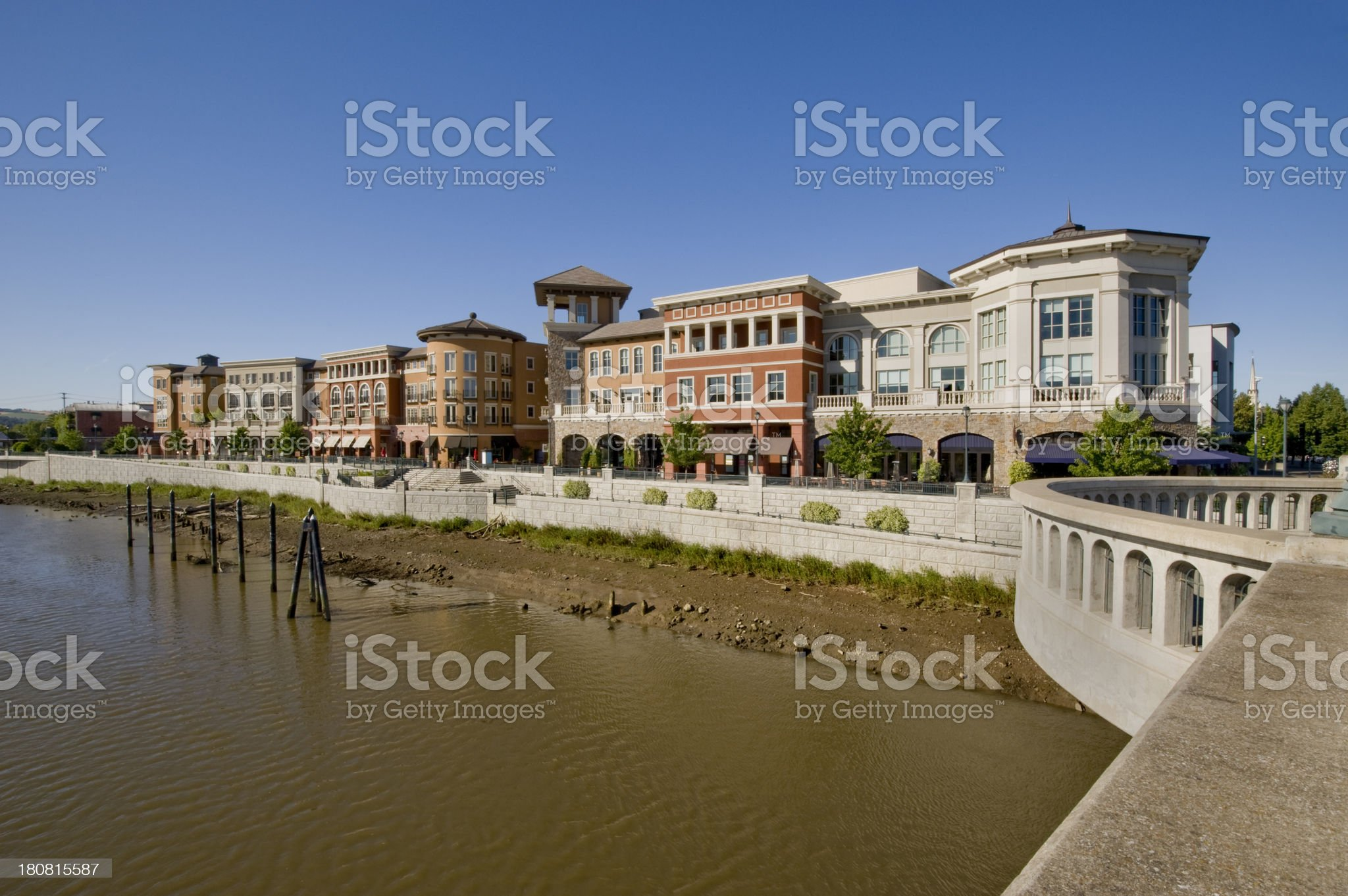 River Front, Napa, California royalty-free stock photo