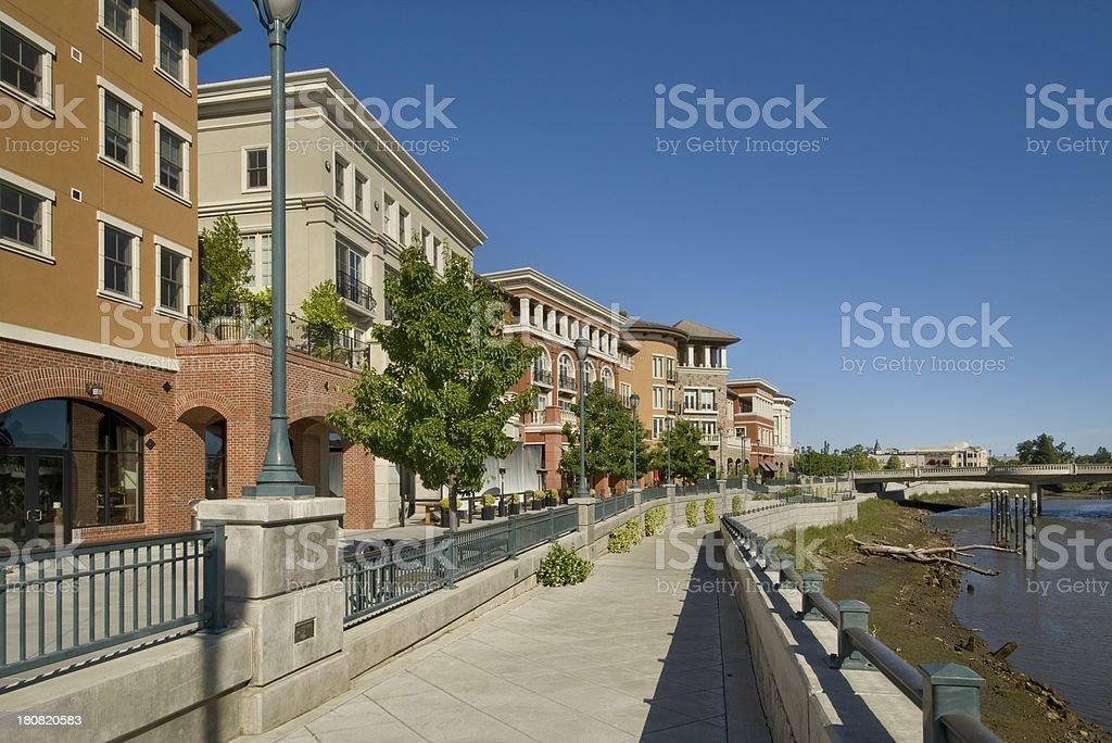 River Front, Napa, California stock photo