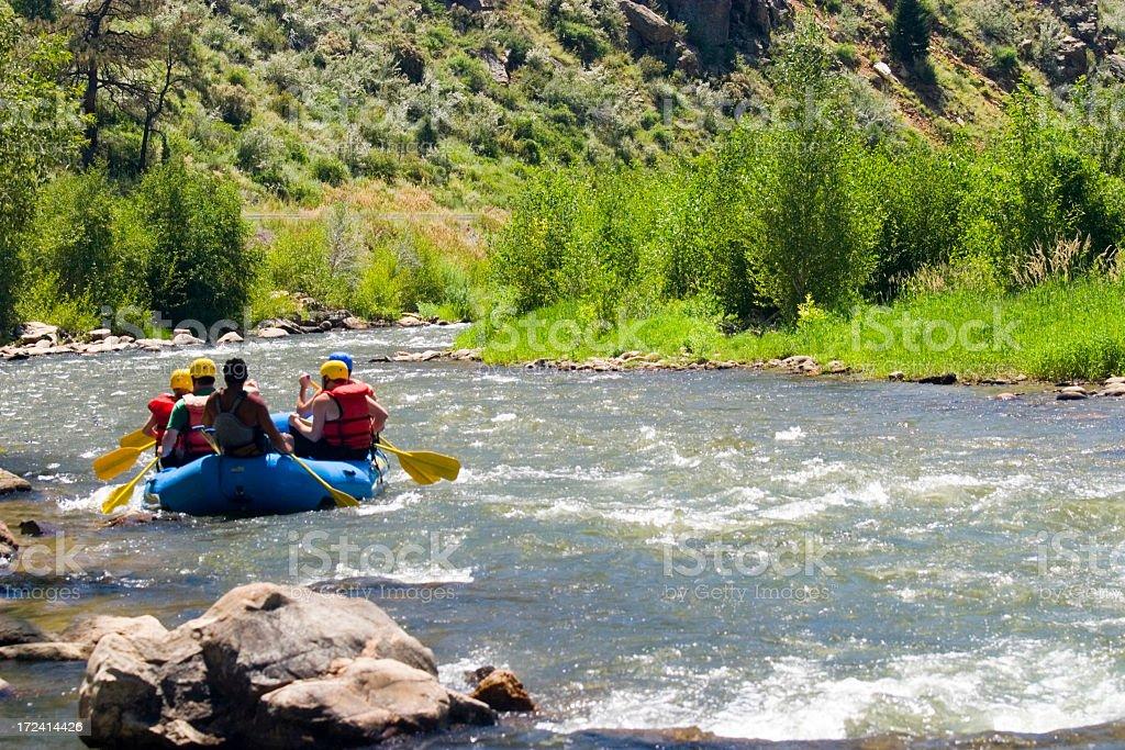 River Fun royalty-free stock photo