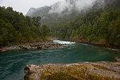 River Futaleufu in Patagonia