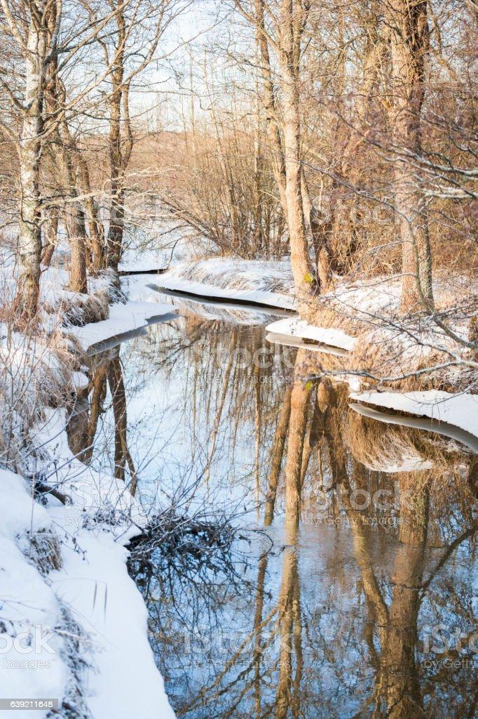 River Glomsinjoki stock photo
