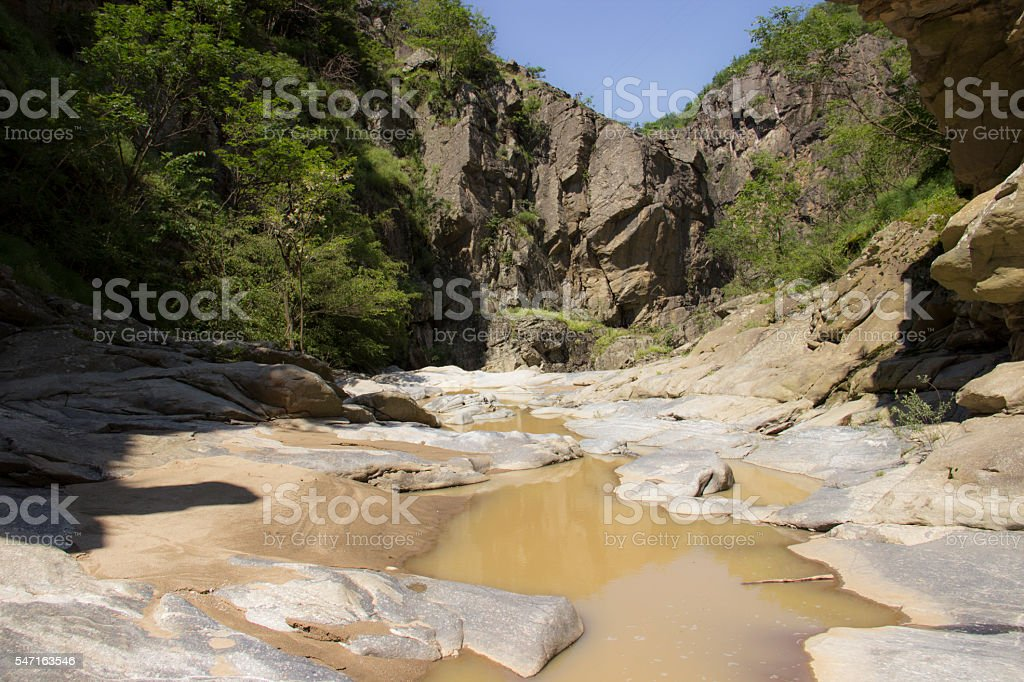River gorge royalty-free stock photo