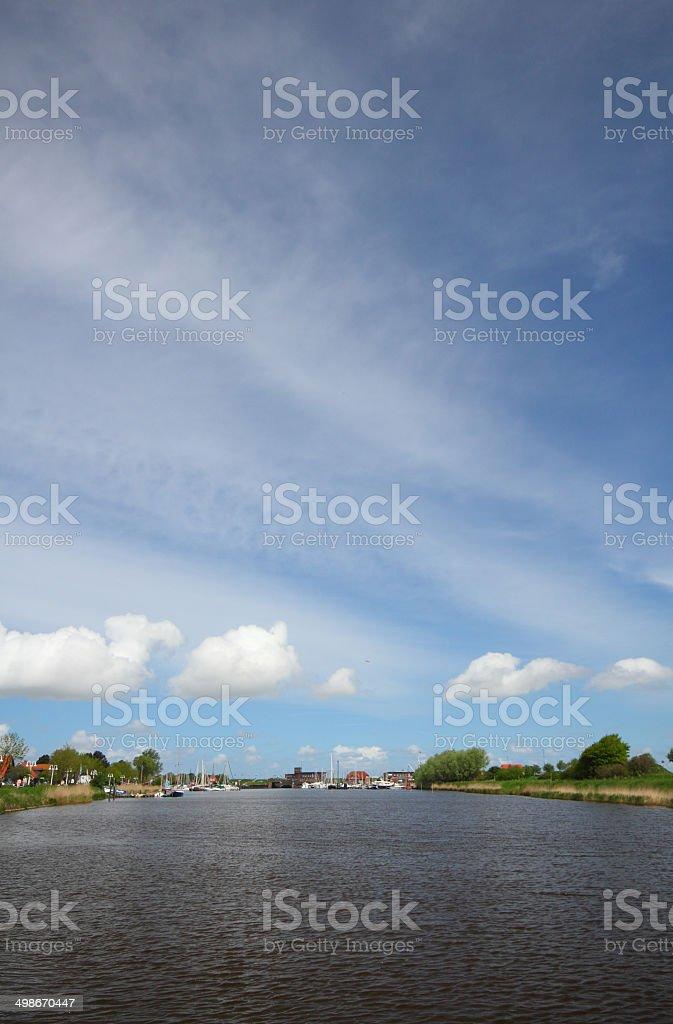 river harle stock photo
