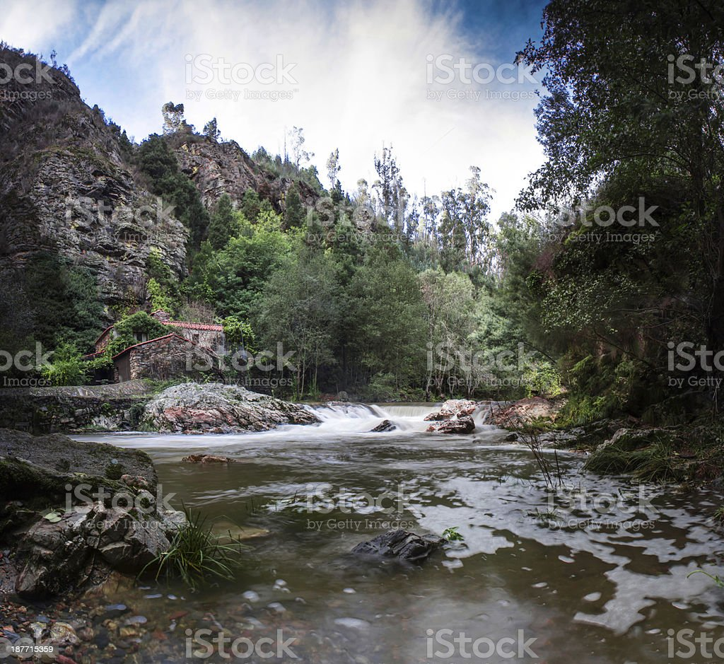 River House royalty-free stock photo