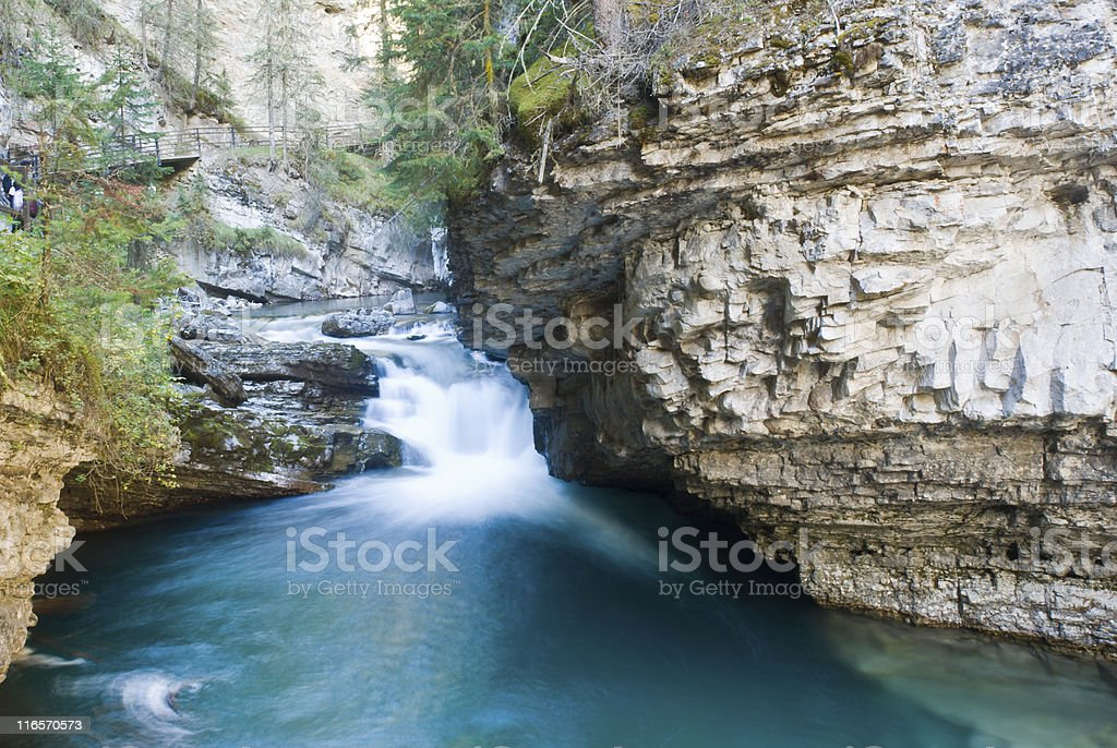 River in a canyon. royalty-free stock photo