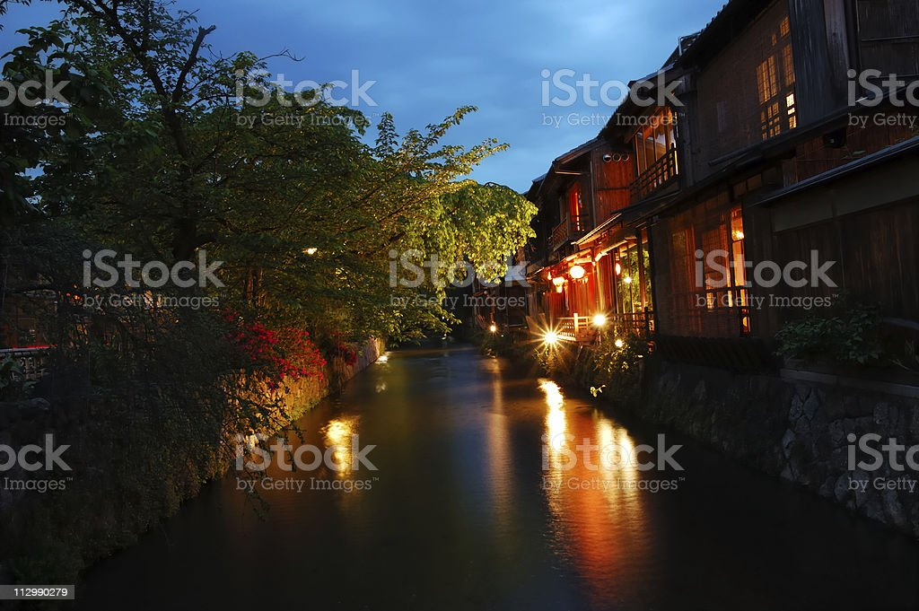 River in Japan royalty-free stock photo