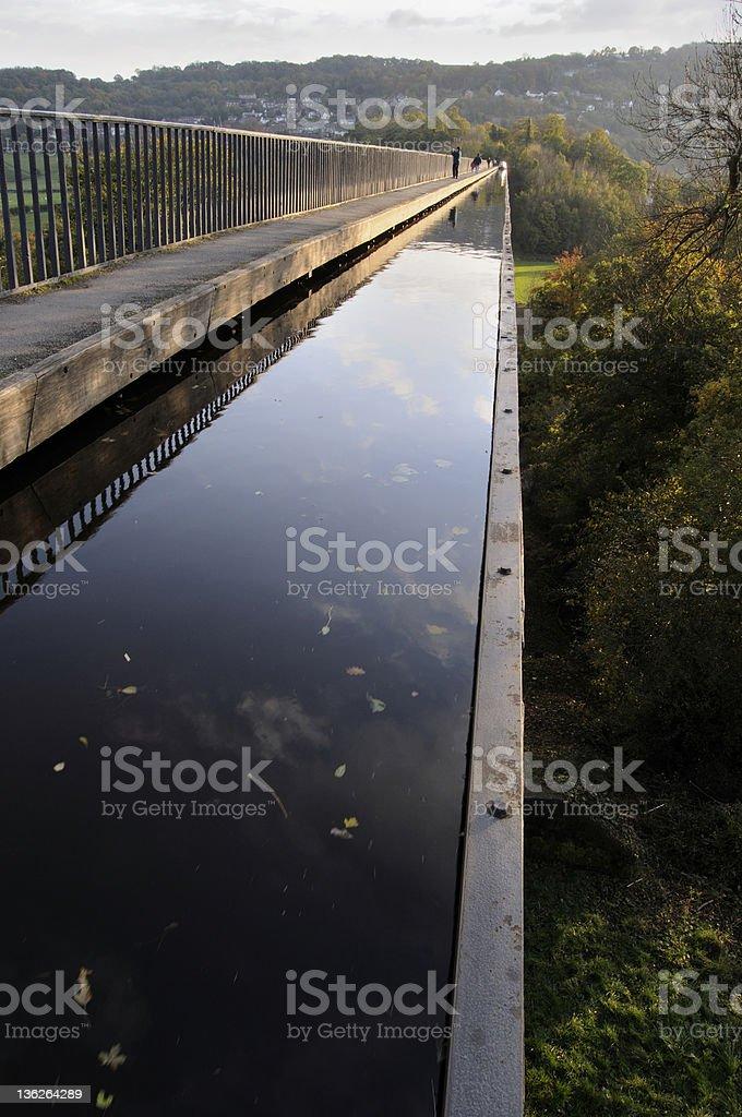 River in the Sky stock photo
