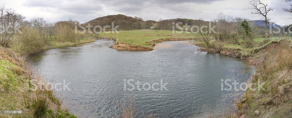 River Irt royalty-free stock photo