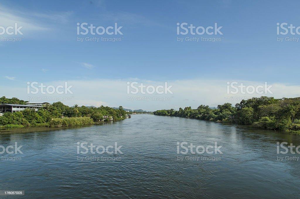 River Kwai royalty-free stock photo