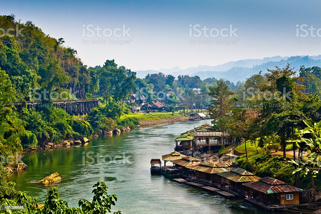 River Kwai stock photo