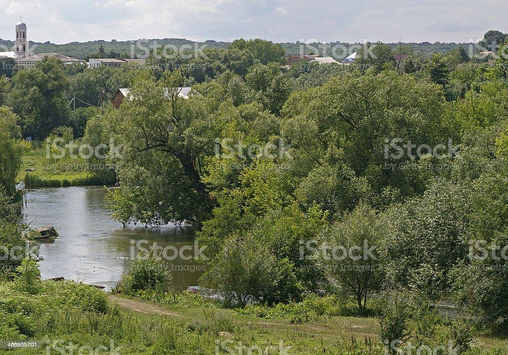river landscape royalty-free stock photo