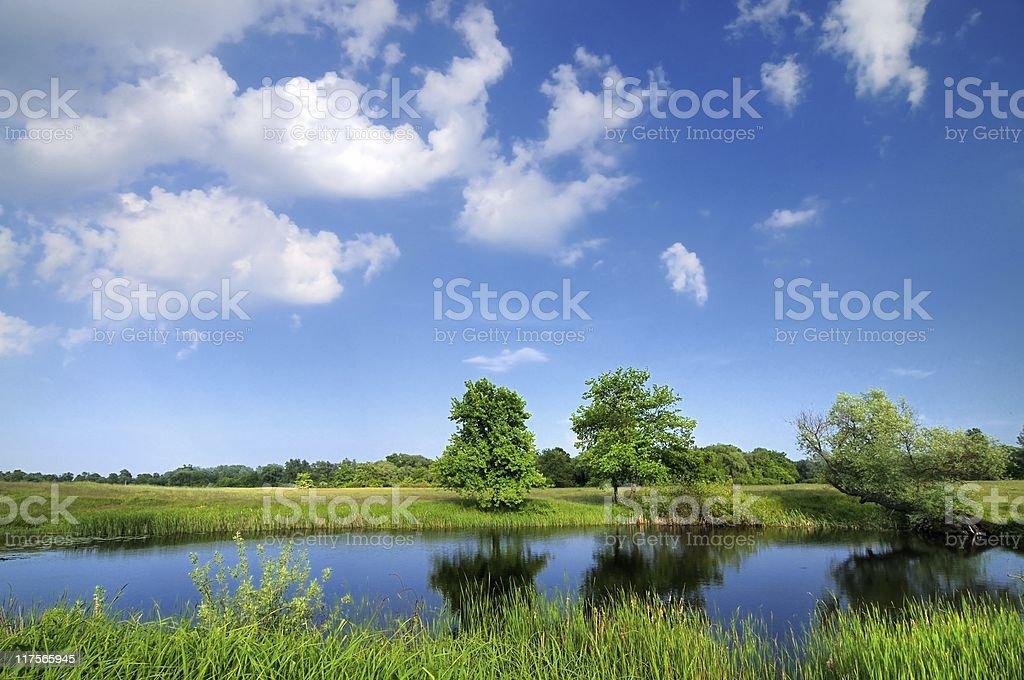 River life royalty-free stock photo