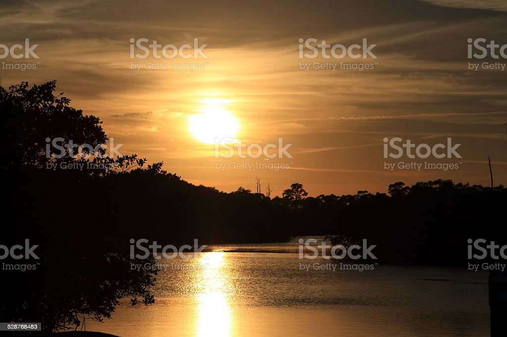River Light royalty-free stock photo