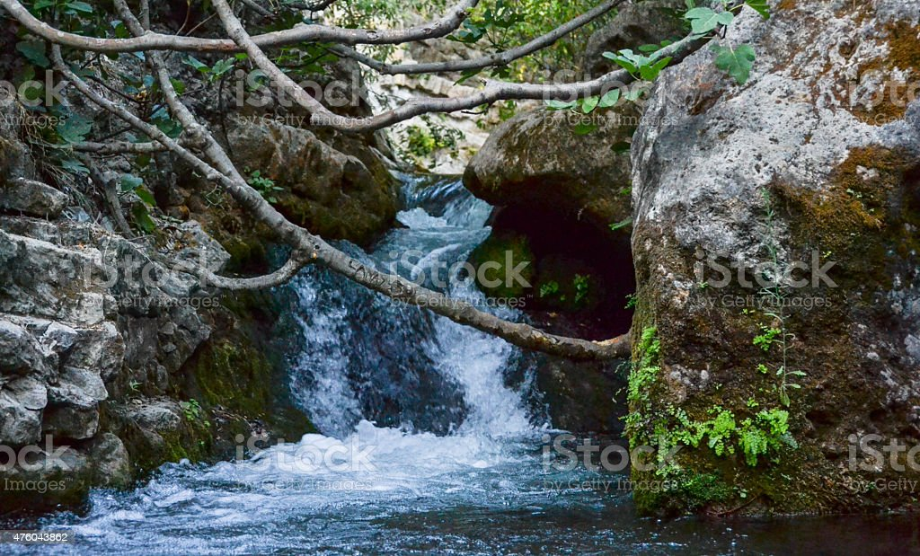 River 'Majalceite' stock photo