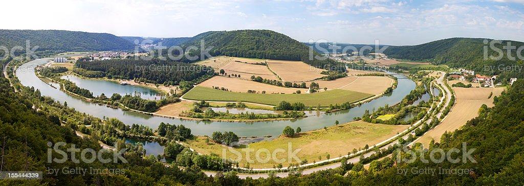 River Meander stock photo