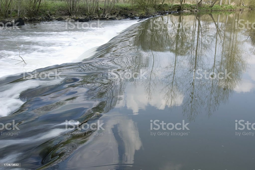 River motion stock photo