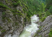 river mountain canyon nature