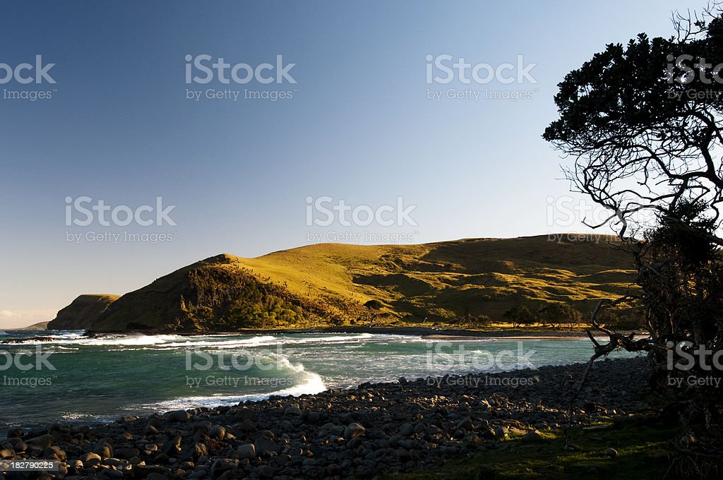 River mouth at Hole in the wall royalty-free stock photo