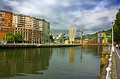 River Nervion, Bilbao, Spain