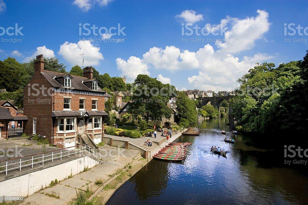 River Nidd royalty-free stock photo