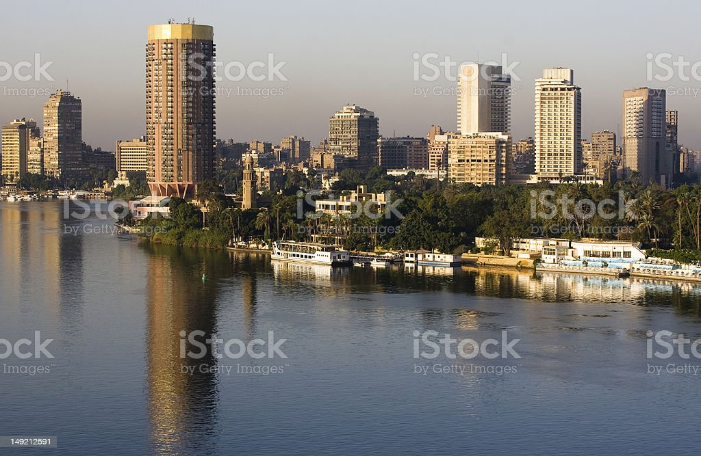 River Nile stock photo
