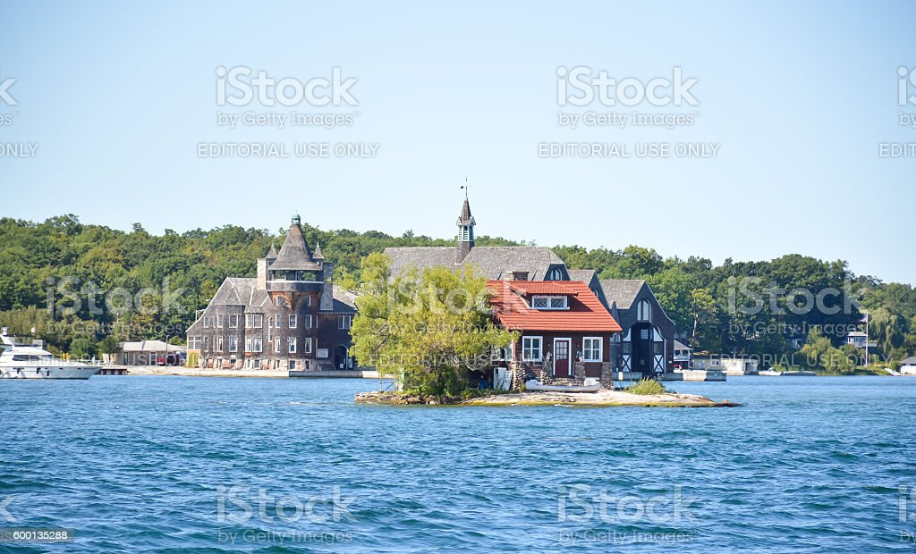 River of 1000 islands stock photo