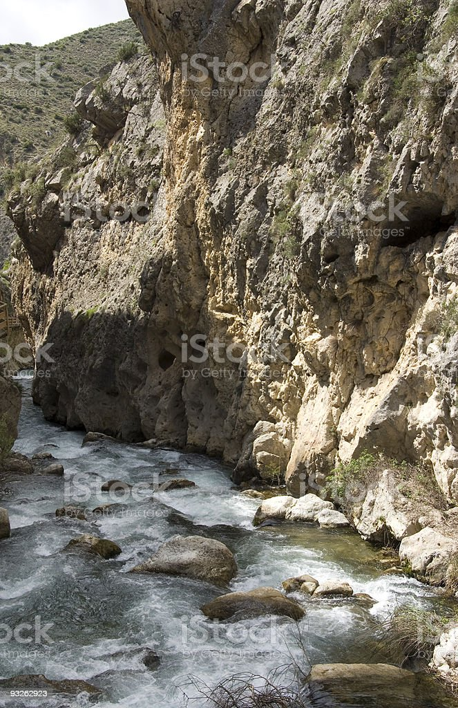 River of Castril. royalty-free stock photo