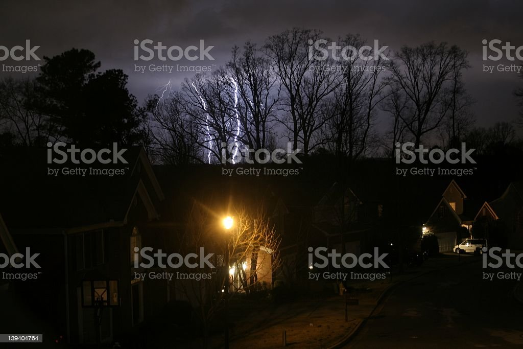 River of electricity royalty-free stock photo