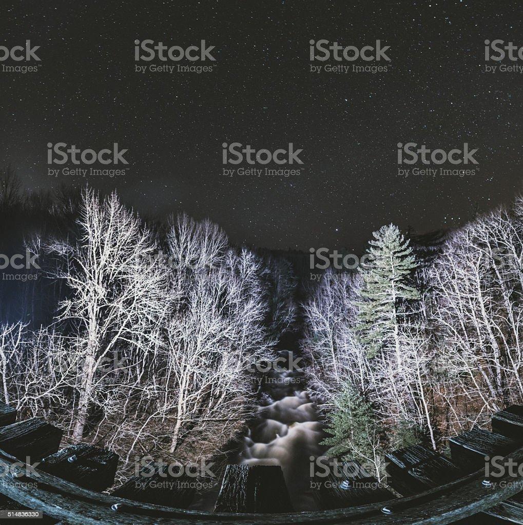 River of Night stock photo