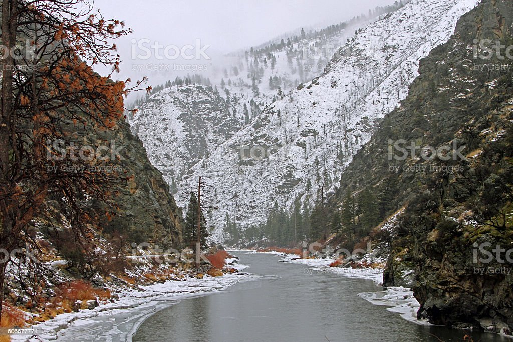River of No Return in Idaho stock photo